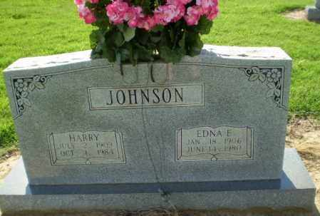 JOHNSON, EDNA E - Clay County, Arkansas | EDNA E JOHNSON - Arkansas Gravestone Photos