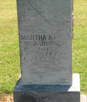 JOHNSON, MARTHA A. - Clay County, Arkansas | MARTHA A. JOHNSON - Arkansas Gravestone Photos