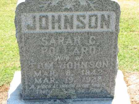 JOHNSON, SARAH C. - Clay County, Arkansas | SARAH C. JOHNSON - Arkansas Gravestone Photos