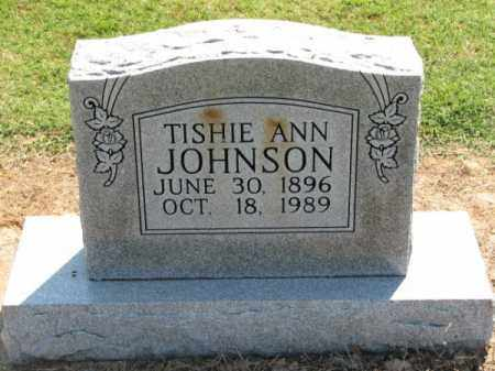 JOHNSON, TISHIE ANN - Clay County, Arkansas | TISHIE ANN JOHNSON - Arkansas Gravestone Photos