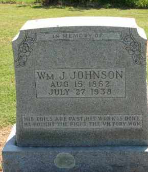 JOHNSON, WILLIAM J. - Clay County, Arkansas | WILLIAM J. JOHNSON - Arkansas Gravestone Photos