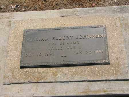 JOHNSON, WILLIAM ELBERT - Clay County, Arkansas | WILLIAM ELBERT JOHNSON - Arkansas Gravestone Photos