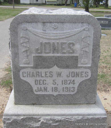 JONES, CHARLES W - Clay County, Arkansas | CHARLES W JONES - Arkansas Gravestone Photos