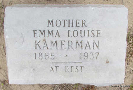 KAMERMAN, EMMA LOUISE - Clay County, Arkansas | EMMA LOUISE KAMERMAN - Arkansas Gravestone Photos