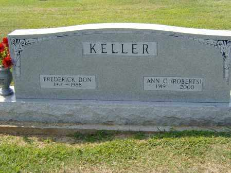 KELLER, FREDRICK DON - Clay County, Arkansas | FREDRICK DON KELLER - Arkansas Gravestone Photos