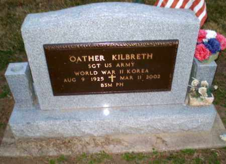KILBRETH  (VETERAN 2 WARS), OATHER - Clay County, Arkansas | OATHER KILBRETH  (VETERAN 2 WARS) - Arkansas Gravestone Photos