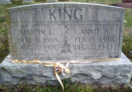 KING, MARTIN L. - Clay County, Arkansas | MARTIN L. KING - Arkansas Gravestone Photos