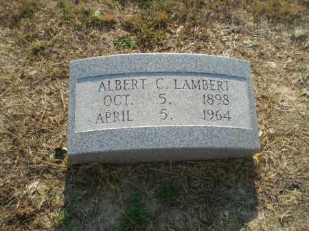 LAMBERT, ALBERT C - Clay County, Arkansas | ALBERT C LAMBERT - Arkansas Gravestone Photos