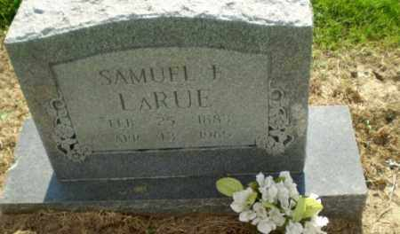LARUE, SAMUEL F - Clay County, Arkansas | SAMUEL F LARUE - Arkansas Gravestone Photos