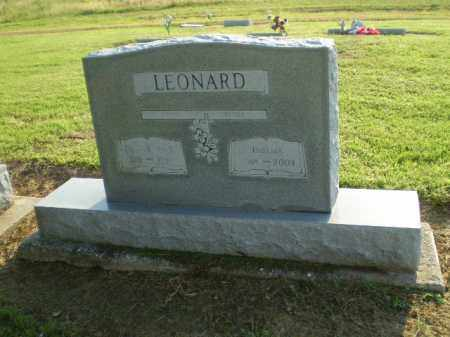 LEONARD, THELMA - Clay County, Arkansas | THELMA LEONARD - Arkansas Gravestone Photos
