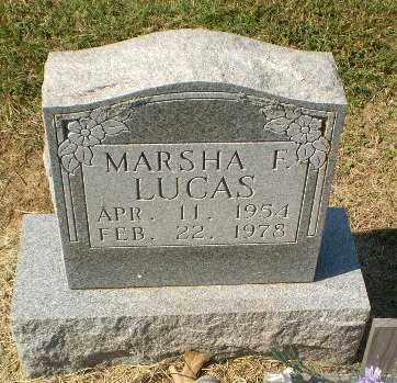 LUCAS, MARSHA F - Clay County, Arkansas | MARSHA F LUCAS - Arkansas Gravestone Photos