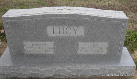 LUCY, ENOCH - Clay County, Arkansas | ENOCH LUCY - Arkansas Gravestone Photos