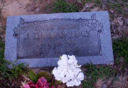 LUCY, J. THOMAS - Clay County, Arkansas   J. THOMAS LUCY - Arkansas Gravestone Photos