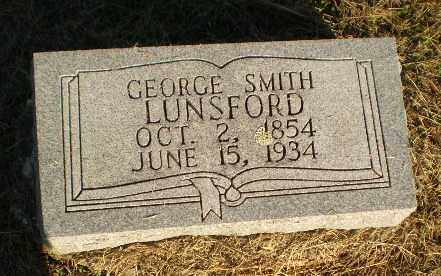 LUNSFORD, GEORGE SMITH - Clay County, Arkansas | GEORGE SMITH LUNSFORD - Arkansas Gravestone Photos