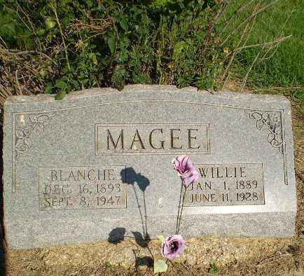 MAGEE, BLANCHE - Clay County, Arkansas | BLANCHE MAGEE - Arkansas Gravestone Photos