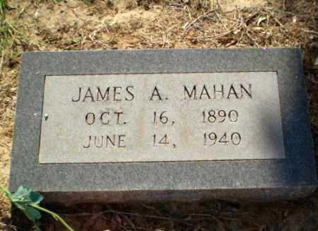 MAHAN, JAMES A - Clay County, Arkansas | JAMES A MAHAN - Arkansas Gravestone Photos
