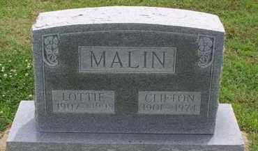 AUD MALIN, LOTTIE M - Clay County, Arkansas | LOTTIE M AUD MALIN - Arkansas Gravestone Photos
