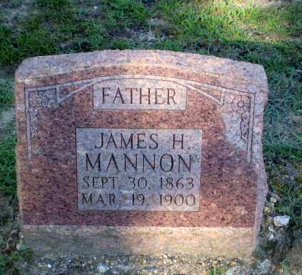 MANNON, JAMES H - Clay County, Arkansas | JAMES H MANNON - Arkansas Gravestone Photos