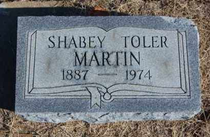 TOLER MARTIN, SHABEY - Clay County, Arkansas | SHABEY TOLER MARTIN - Arkansas Gravestone Photos