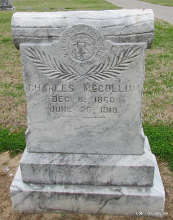 MCCOLLUM, CHARLES - Clay County, Arkansas | CHARLES MCCOLLUM - Arkansas Gravestone Photos