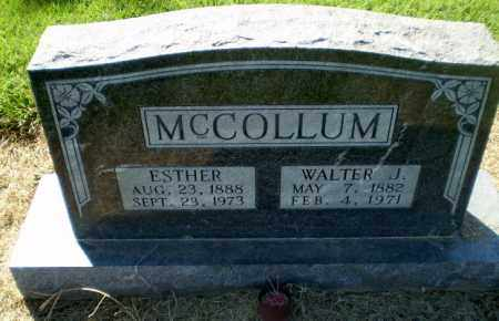 MCCOLLUM, ESTHER - Clay County, Arkansas | ESTHER MCCOLLUM - Arkansas Gravestone Photos
