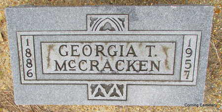 MCCRACKEN, GEORGIA T - Clay County, Arkansas | GEORGIA T MCCRACKEN - Arkansas Gravestone Photos