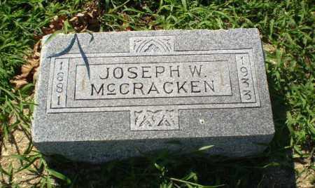 MCCRACKEN, JOSEPH W - Clay County, Arkansas | JOSEPH W MCCRACKEN - Arkansas Gravestone Photos