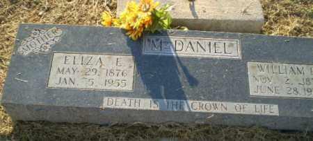 MCDANIEL, ELIZA E - Clay County, Arkansas | ELIZA E MCDANIEL - Arkansas Gravestone Photos