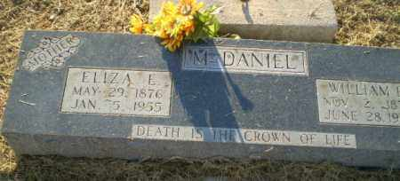 MCDANIEL, WILLIAM F - Clay County, Arkansas | WILLIAM F MCDANIEL - Arkansas Gravestone Photos