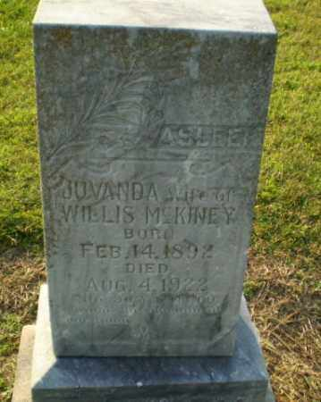 MCKINEY, JUVANDA - Clay County, Arkansas | JUVANDA MCKINEY - Arkansas Gravestone Photos