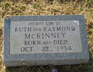 MCKINNEY, INFANT SON - Clay County, Arkansas | INFANT SON MCKINNEY - Arkansas Gravestone Photos