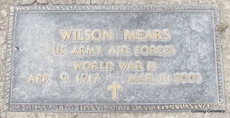 MEARS  (VETERAN WWII), WILSON - Clay County, Arkansas | WILSON MEARS  (VETERAN WWII) - Arkansas Gravestone Photos