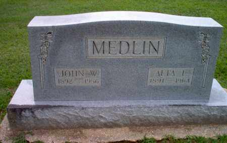 MEDLIN, ALTA L - Clay County, Arkansas | ALTA L MEDLIN - Arkansas Gravestone Photos