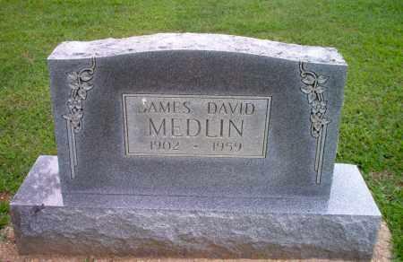 MEDLIN, JAMES DAVID - Clay County, Arkansas | JAMES DAVID MEDLIN - Arkansas Gravestone Photos