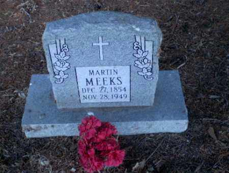 MEEKS, MARTIN - Clay County, Arkansas | MARTIN MEEKS - Arkansas Gravestone Photos