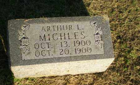 MICHLES, ARTHUR L - Clay County, Arkansas | ARTHUR L MICHLES - Arkansas Gravestone Photos