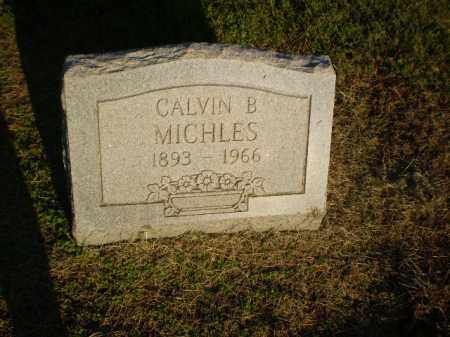 MICHLES, CALVIN B - Clay County, Arkansas | CALVIN B MICHLES - Arkansas Gravestone Photos