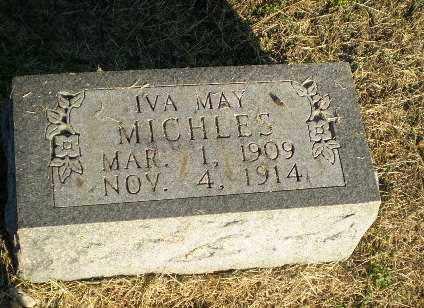 MICHLES, IVA MAY - Clay County, Arkansas | IVA MAY MICHLES - Arkansas Gravestone Photos