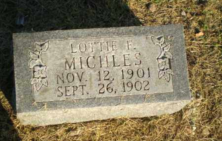 MICHLES, LOTTIE E - Clay County, Arkansas | LOTTIE E MICHLES - Arkansas Gravestone Photos