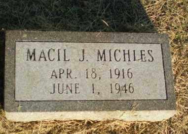 MICHLES, MACIL J - Clay County, Arkansas | MACIL J MICHLES - Arkansas Gravestone Photos