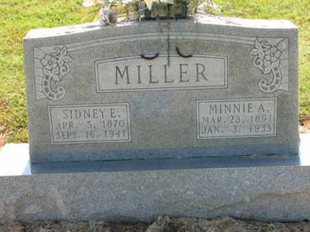 MILLER, SIDNEY E. - Clay County, Arkansas | SIDNEY E. MILLER - Arkansas Gravestone Photos