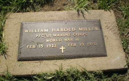 MILLER (VETERAN WWII), WILLIAM HAROLD - Clay County, Arkansas | WILLIAM HAROLD MILLER (VETERAN WWII) - Arkansas Gravestone Photos