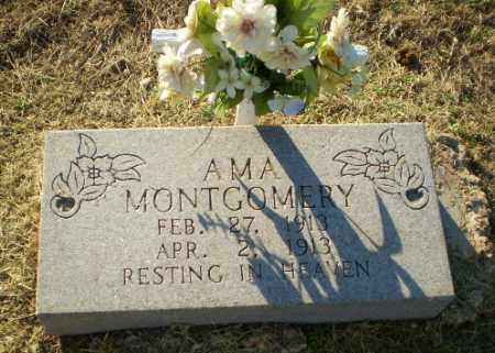 MONTGOMERY, AMA - Clay County, Arkansas | AMA MONTGOMERY - Arkansas Gravestone Photos
