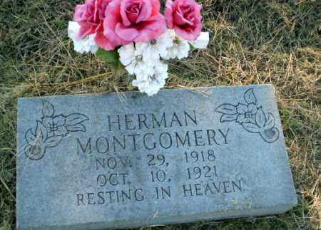 MONTGOMERY, HERMAN - Clay County, Arkansas | HERMAN MONTGOMERY - Arkansas Gravestone Photos
