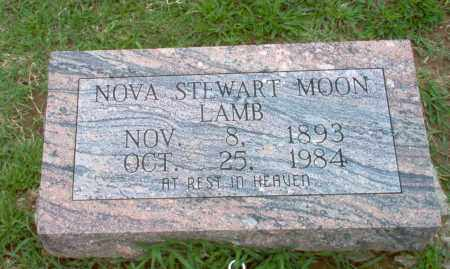 STEWART MOON - LAMB, NOVA - Clay County, Arkansas | NOVA STEWART MOON - LAMB - Arkansas Gravestone Photos