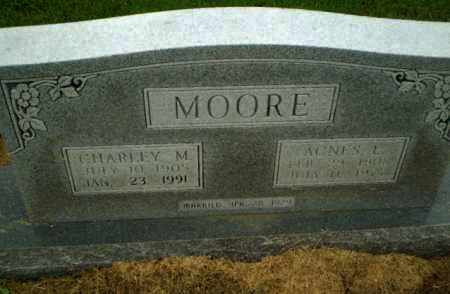 MOORE, AGNES  L - Clay County, Arkansas | AGNES  L MOORE - Arkansas Gravestone Photos