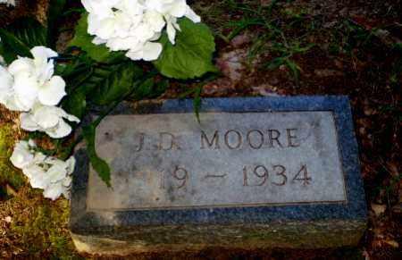 MOORE, J.D. - Clay County, Arkansas | J.D. MOORE - Arkansas Gravestone Photos