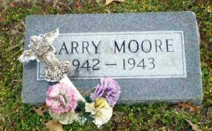 MOORE, LARRY - Clay County, Arkansas | LARRY MOORE - Arkansas Gravestone Photos