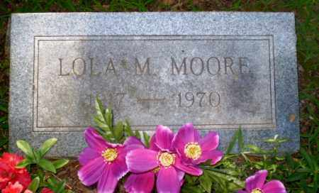 MOORE, LOLA M - Clay County, Arkansas | LOLA M MOORE - Arkansas Gravestone Photos