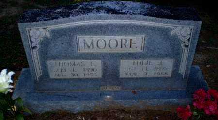 MOORE, TOLIE J - Clay County, Arkansas | TOLIE J MOORE - Arkansas Gravestone Photos